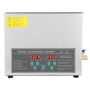 AYNEFY Nettoyeur à Ultrasons 10L Appareil Numérique avec Double fréquence 28 / 40KHz Nettoyage en Acier Inoxydable avec Bain à ultrasons pour Lunettes Bijoux Montres