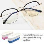 Mini nettoyeur de bijoux à ultrasons portable pour nettoyer les bijoux, les lunettes