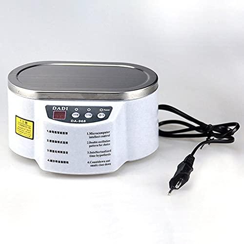Nettoyeur à ultrasons Intelligent Lavage à ultrasons en Acier Inoxydable antidérapant pour Machine de Bain à ultrasons pour Lunettes de Bijoux