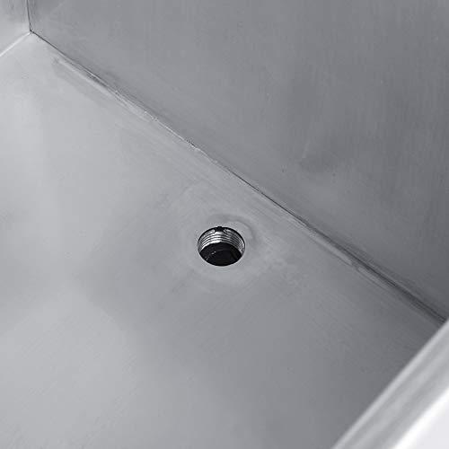 Nettoyeur à ultrasons numérique, nettoyeur à ultrasons Grande minuterie numérique et affichage de la température en acier inoxydable avec pieds en caoutchouc antidérapants pour la maison