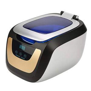 Nettoyeur à ultrasons, nettoyant numérique à commande tactile à ondes ultrasoniques 750 ml pour lunettes, bijoux, montre CD