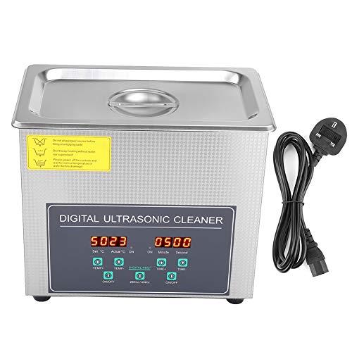 Cloudbox Nettoyeur à ultrasons-3L Machine de Nettoyage à ultrasons numérique à Double fréquence en Acier Inoxydable 220V