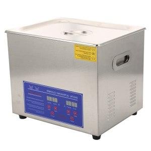 Machine de Nettoyage de Bijoux, Nettoyeur à ultrasons 10L Fonction de Chauffage de capacité 10L pour la Maison pour Le Laboratoire de Nettoyage