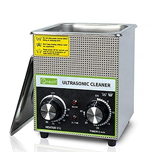 MBBDEBA Nettoyeur À Ultrasons,Nettoyeur À Ultrasons 220V, pour Le Nettoyage des Circuits Imprimés De Grande Taille, des Pièces Métalliques, des Bijoux, des Prothèses Dentaires