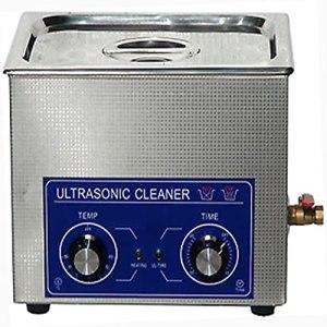 Nettoyeur à ultrasons, machine à réservoir de nettoyage chauffée pour nettoyeur à ultrasons en acier inoxydable 1pc avec panier(22L)