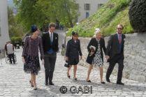 Princess Ursula of Bavaria and family.