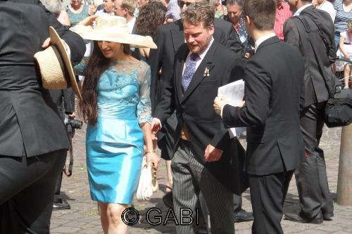 Hereditary Prince Maximilian zu Hohenlohe-Bartenstein and his wife Cristina.