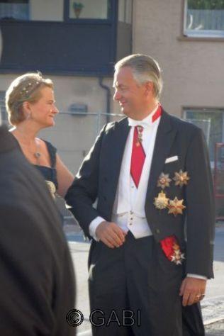 Duchess Marie and Duke Friedrich von Württemberg.