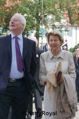 Fürst Hans Adam II and Fürstin Marie von und zu Liechtenstein. Photo & Copyright: Stefan