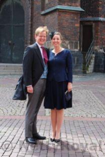 Prince Michael and Princess Christina von Baden.