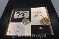 Designs for Irene's ring and Juliana's 1959 bracelet