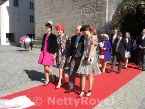 Happy family - Margherita, Maria Beatrix, Riprand, Georgina Arco-Zinneberg