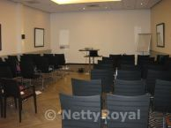 The conference room at the Park Hotel