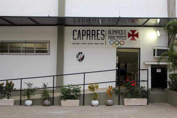 Caprres/Olímpico e Paralímpico fica localizado ao lado do Ginásio Principal
