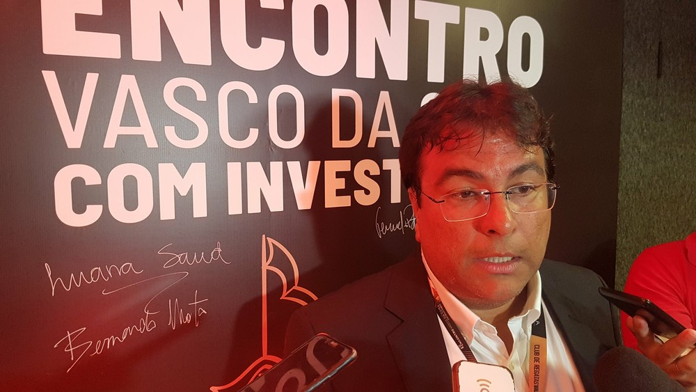 Adriano Mendes, vice-presidente de controladoria do Vasco