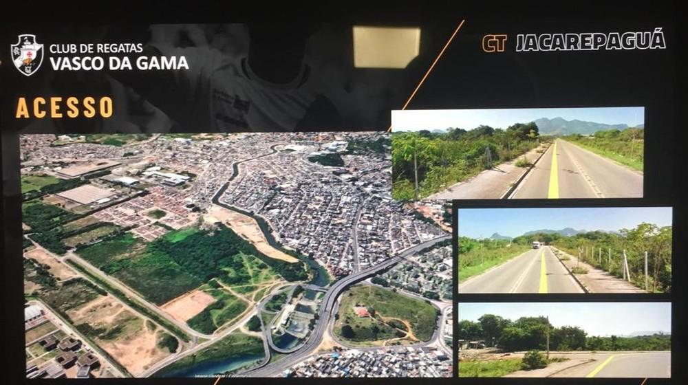 Projeto do futuro CT do Vasco, em Jacarepaguá