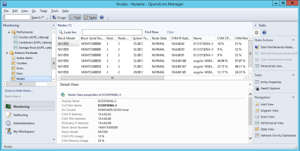SCOM10 Nutanix SCOM Management Pack
