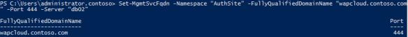 wap-config2 Windows Azure Pack