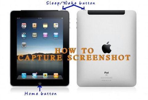 How to Capture Screenshot on iPad