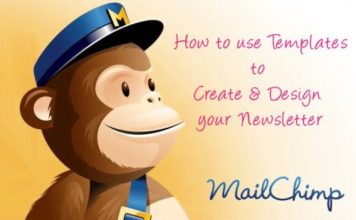 mailchimp tut - design newsletter