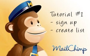 mailchimp tutorial 01