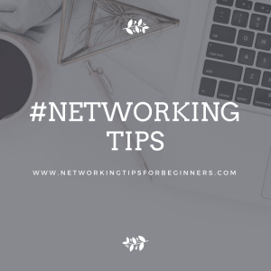 Networking tips - event preparation