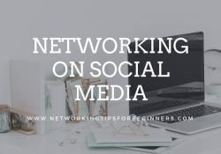 NTFB Blog Posts - networking on social media