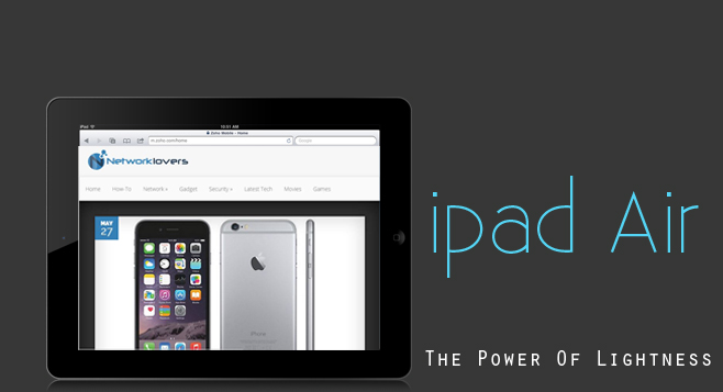 Details and reviews regarding iPad Air