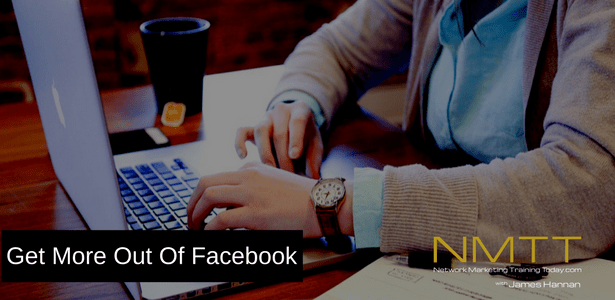 4 Keys to being productive on Facebook