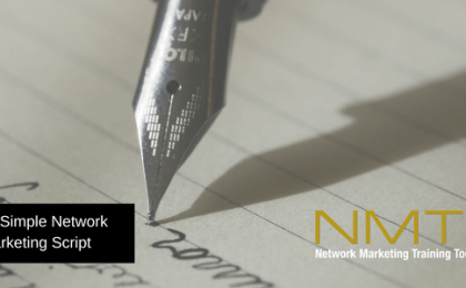 Your Simple Network Marketing Script