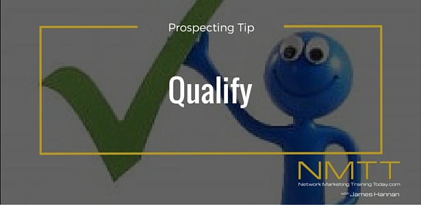 Network Marketing Tip On Prospecting