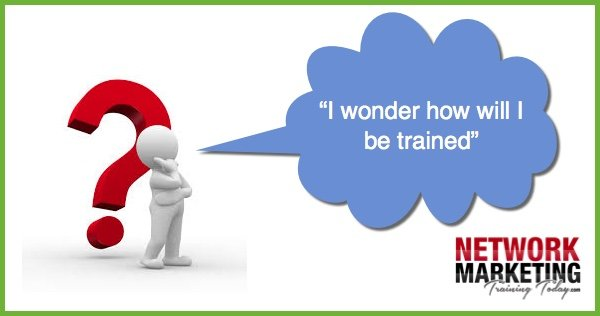 Network Marketing Training Tip How will I be trained