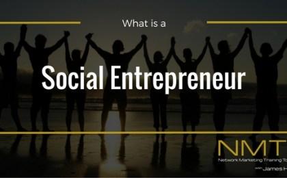 social entrepreneur