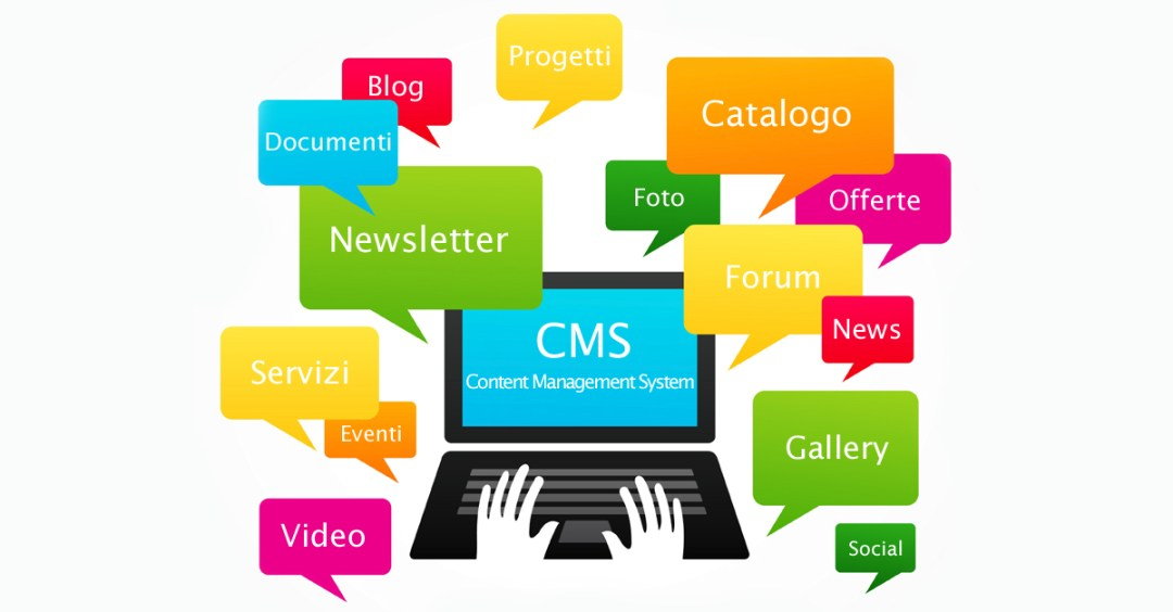CMS Word Press Joomla Content Management System a Foligno Umbria