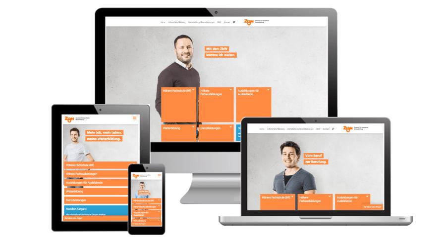 Responsive Design, Internetagentur, St. Gallen