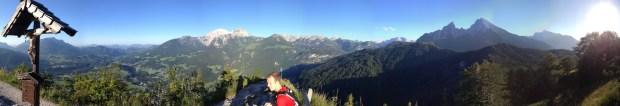 On Top of Grünstein mit Steve fast 360 Grad