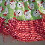 Children's Christmas Fat Quarter Skirt Redux