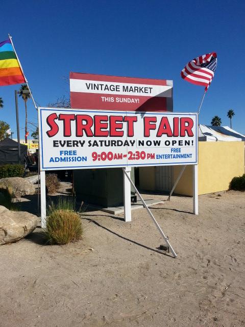 Palm Springs CA Street Fair