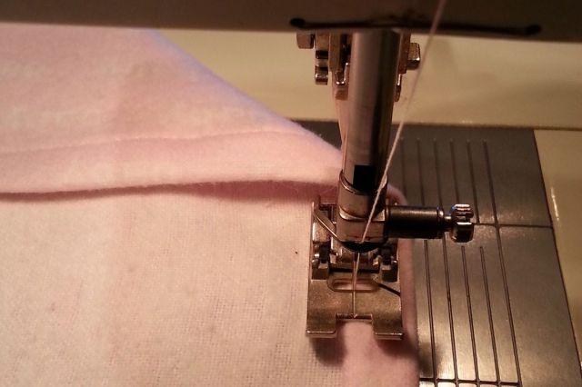 Machine Stitch Hem