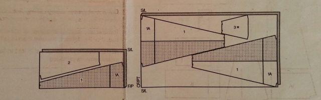 tent pattern layout