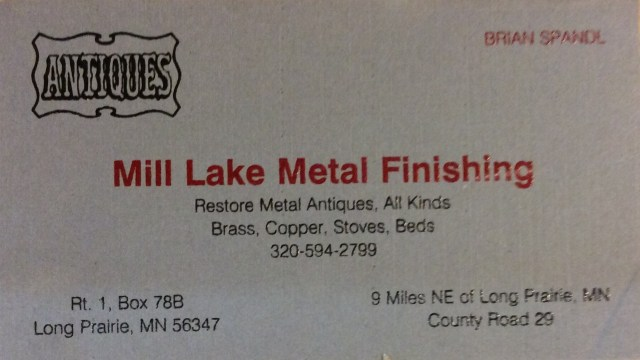Mill Lake Metal Finishing