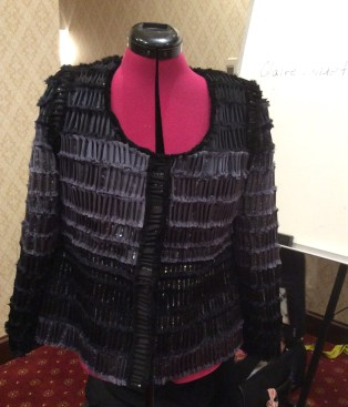 Chanel Jacket. Hand made fabric