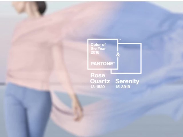 Pantone 2016 Colors First time two colors have been chosen.