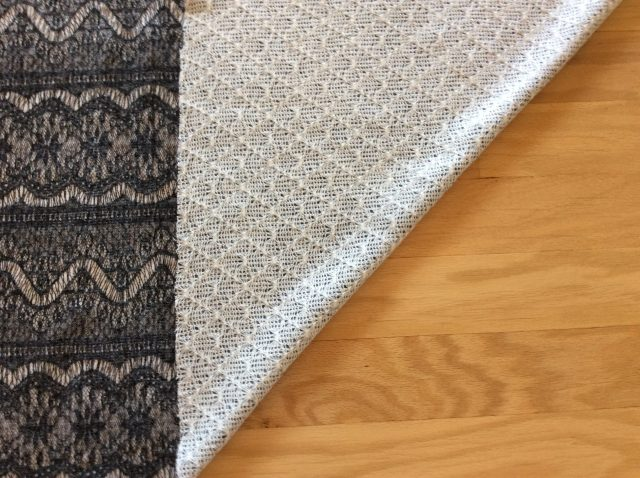off-grain fabric