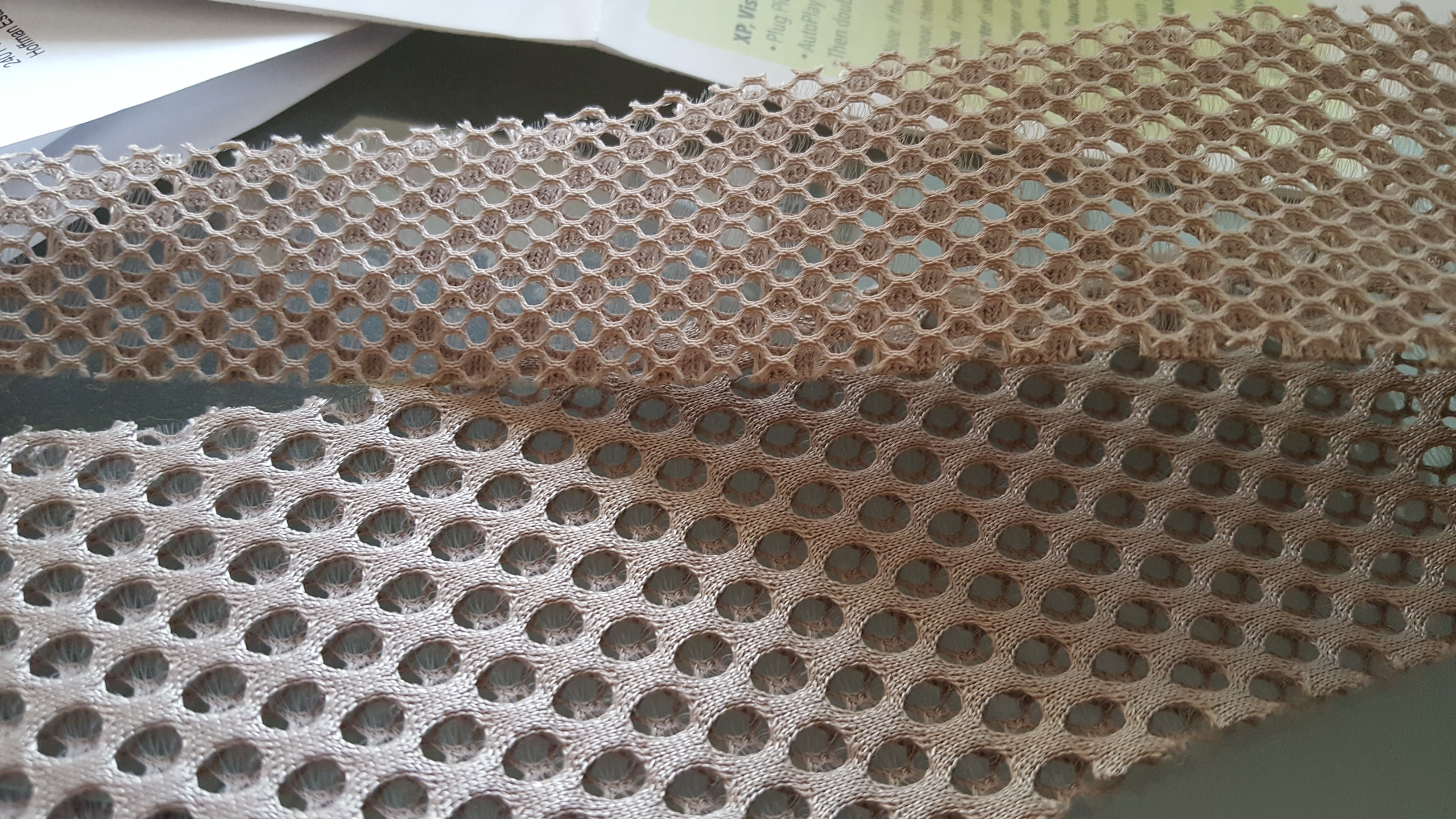 3d spacer mesh for 3d space fabric
