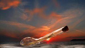Flaschenpost - Geschenke selber machen