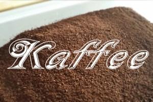 Kaffee als Geruchsentferner