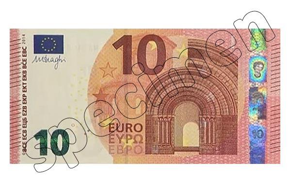 Wie sicher ist ein neuer 10 Euro Schein?