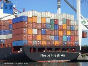 Die ersten Frischluft-Container auf dem Weg