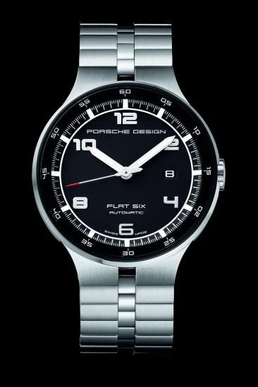 Neue P'6300 Flat Six Uhrenmodelle von Porsche Design